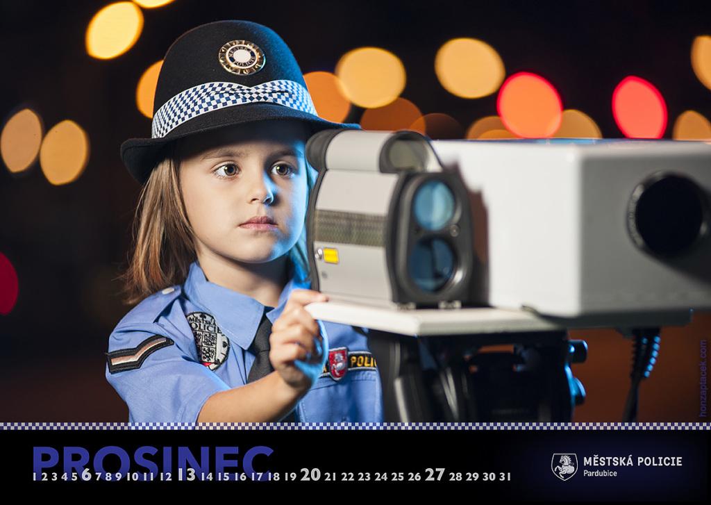 Městská policie Pardubice - kalendář 2015